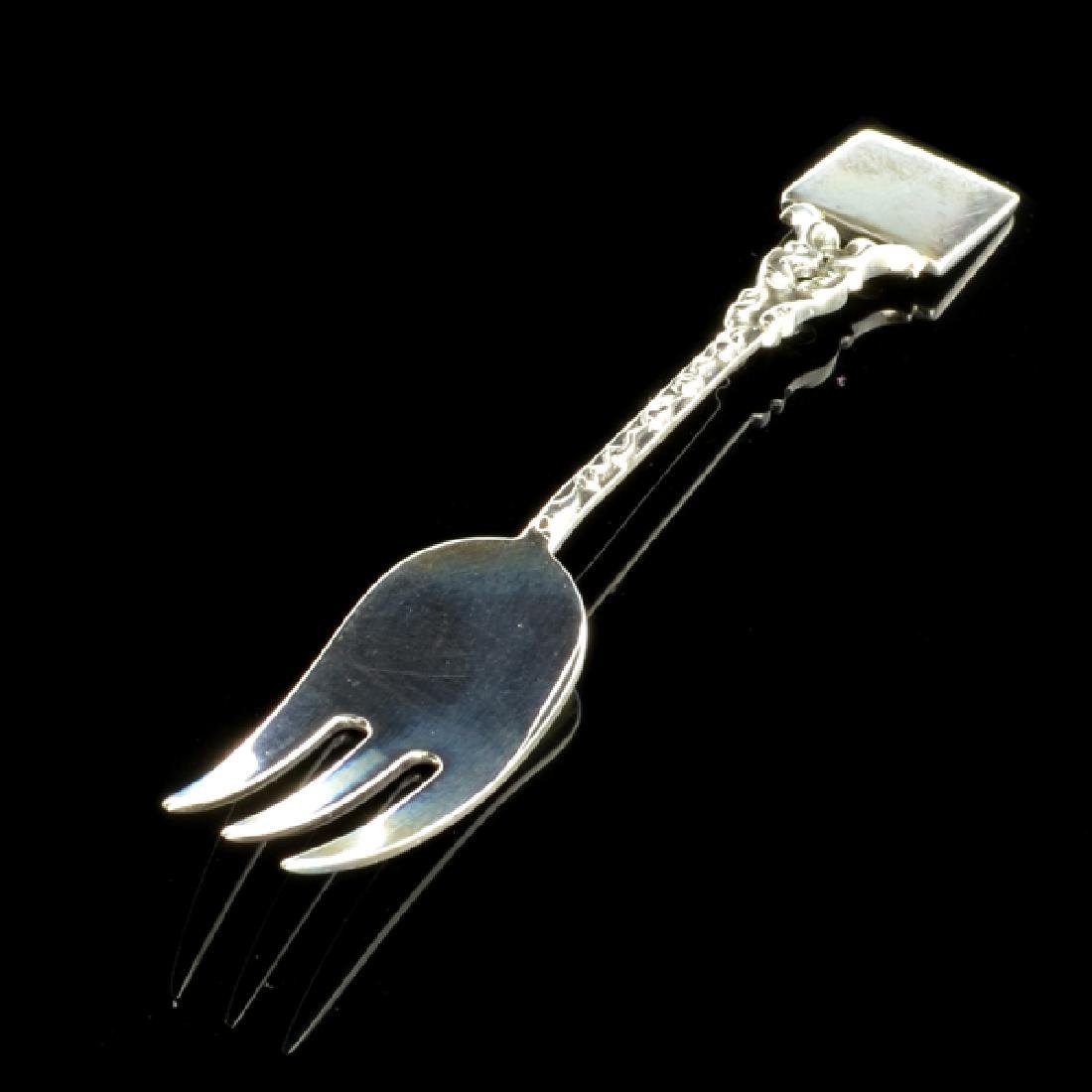 Fine Jewelry Sterling Silver Baby Fork