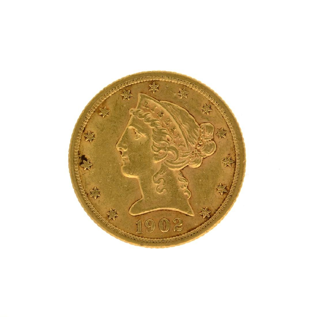 *1902-S Liberty Head Gold Coin (DF)