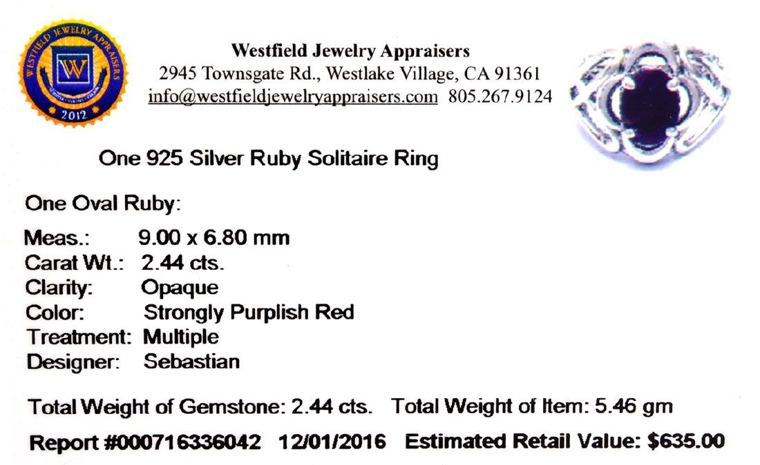 APP: 0.6k Fine Jewelry Designer Sebastian, 2.44CT Oval - 2