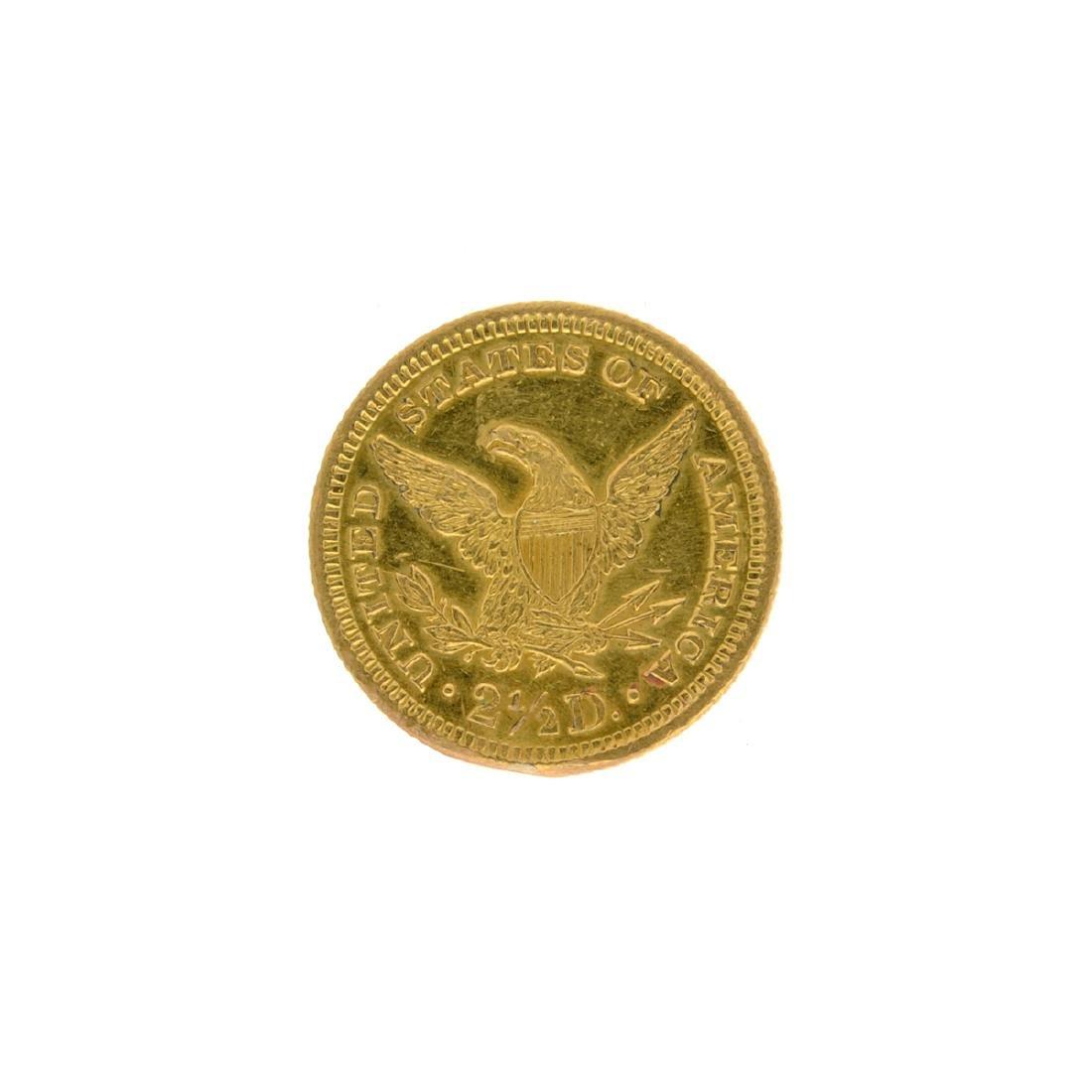 1905 $2.50 U.S. Liberty Head Gold Coin - 2