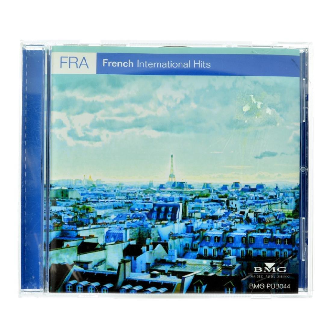 FRA French International Hits CDs