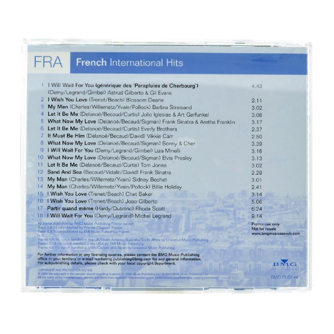 FRA French International Hits CDs - 2