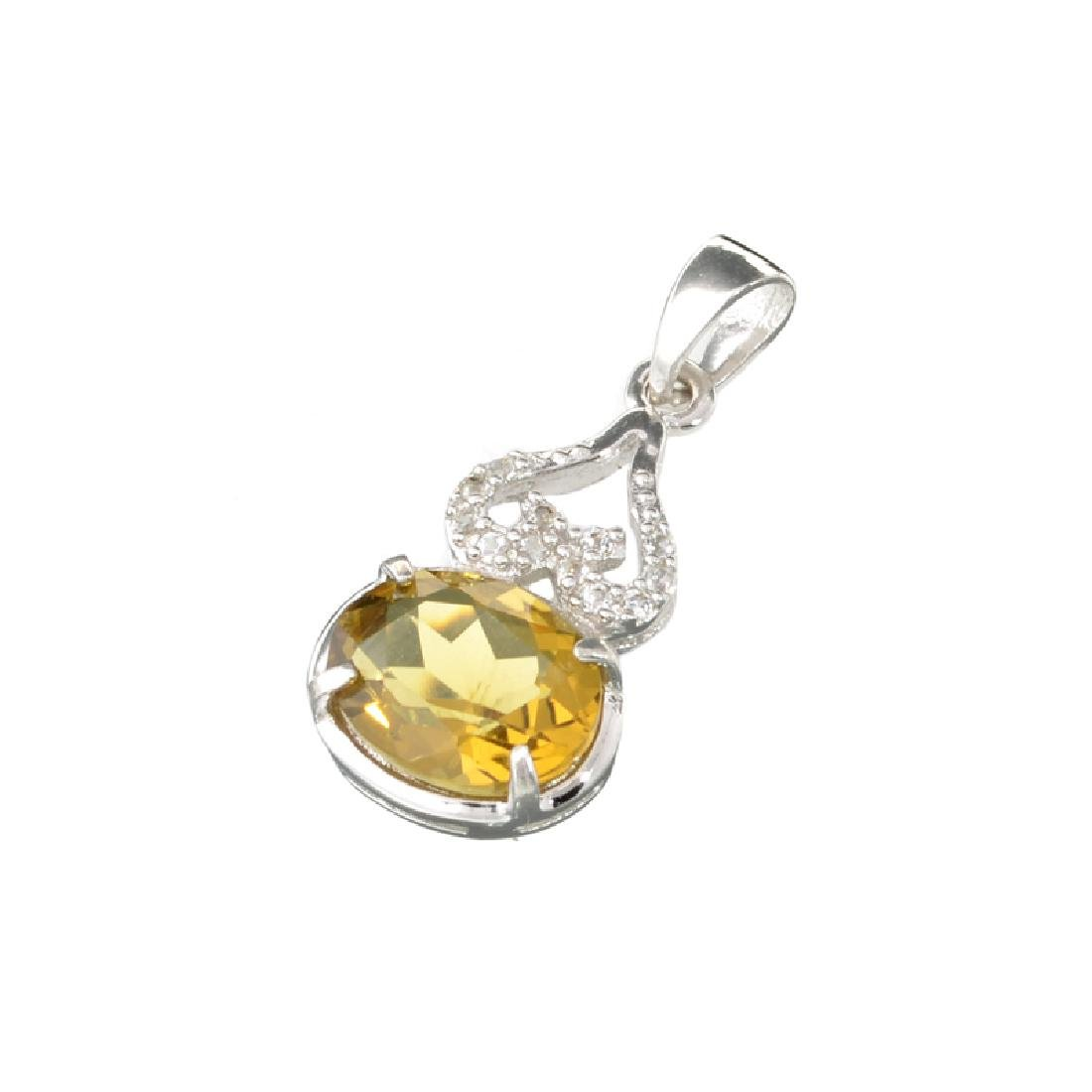 APP: 0.4k Fine Jewerly 2.00CT Oval Cut Citrine And