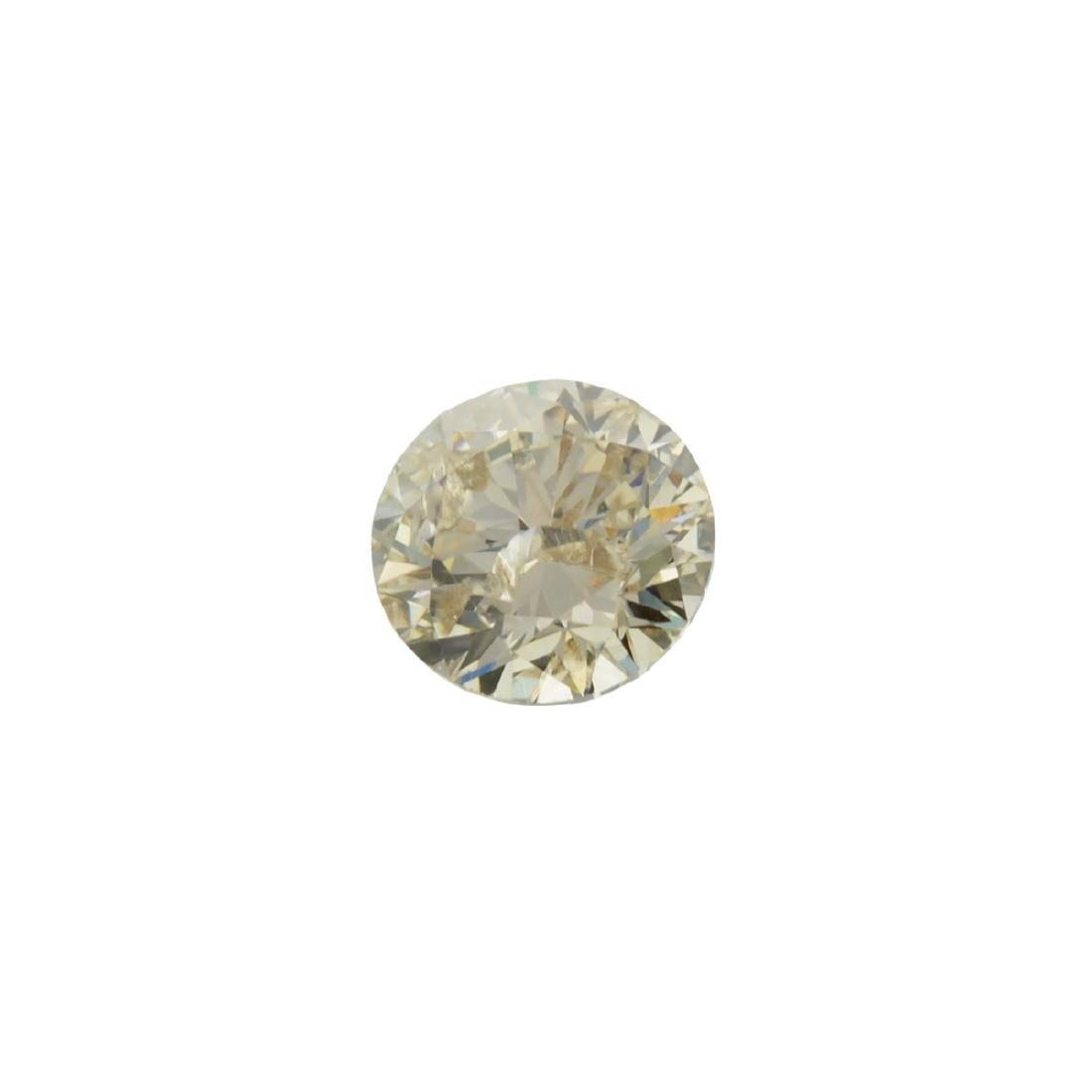 Fine Jewelry GIA Certified 0.70CT Brilliant Round Cut