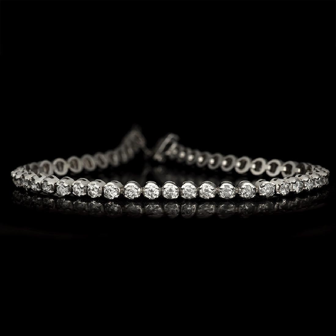 APP: 7k *Fine Jewelry 14 KT White Gold, 3.00CT Round