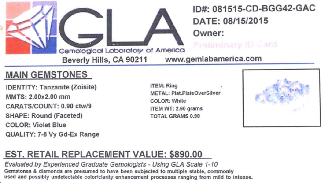 Fine Jewelry 3.00CT Oval Cut Almandite Garnet And - 2