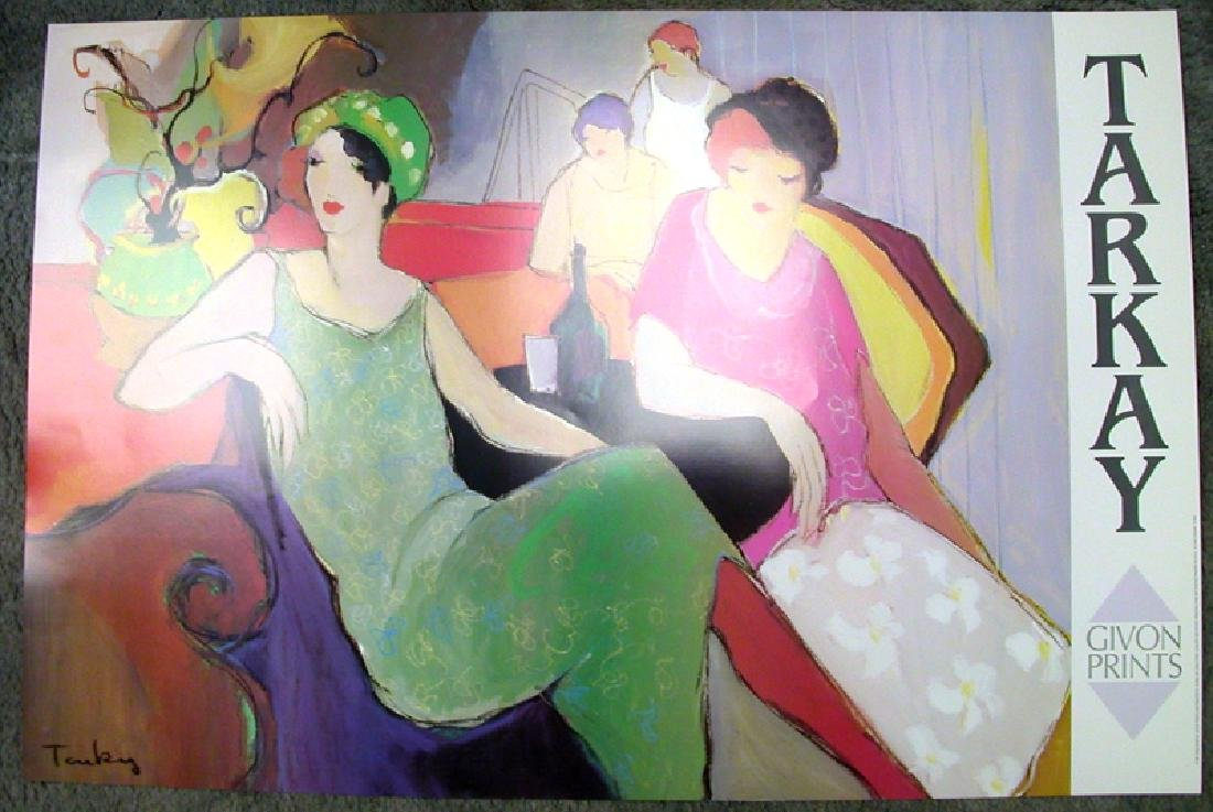 TARKAY (After) In The Lounge Print, 36'' x 24''