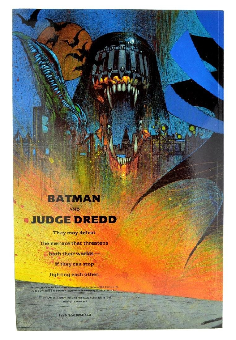 Batman Judge Dredd Judgment on Gotham (1991) Issue  1 - 2