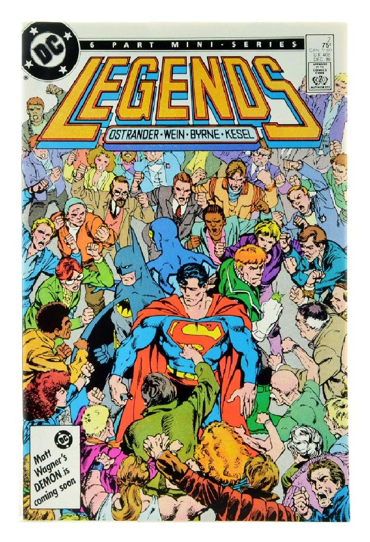 Legends (1986 DC) Issue 2