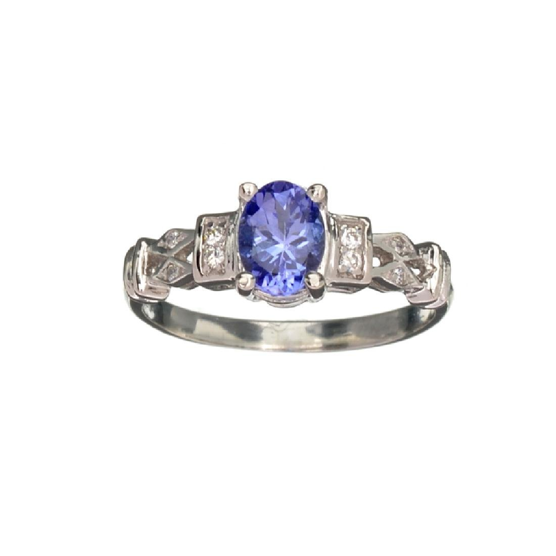 APP: 1.5k Fine Jewelry 14 KT White Gold, 1.01CT Violet
