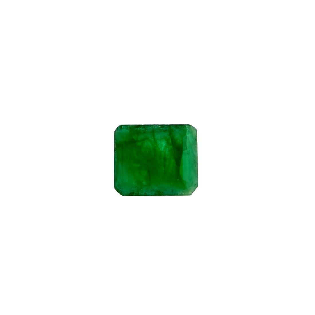APP: 2k 2.64CT Rectangular Step Cut Green Emerald