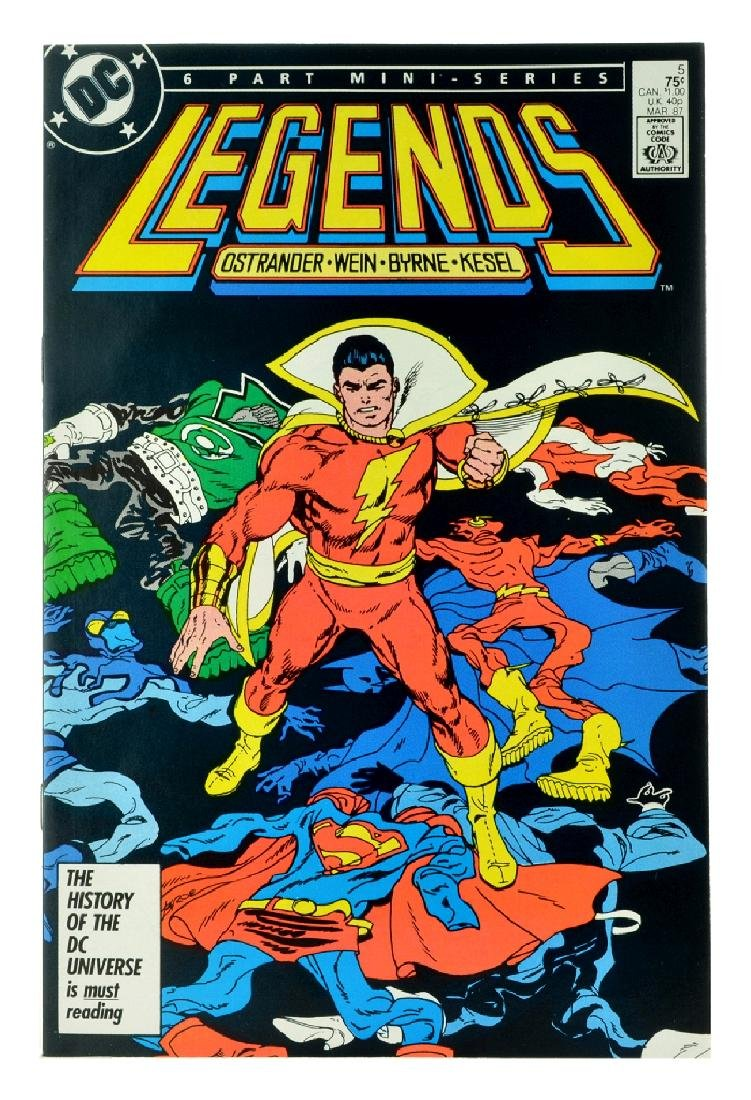 Legends (1986 DC) Issue 5