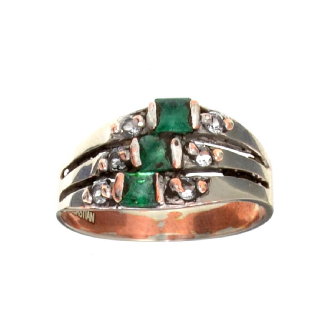APP: 0.5k Fine Jewelry Designer Sebastian 0.63CT Green