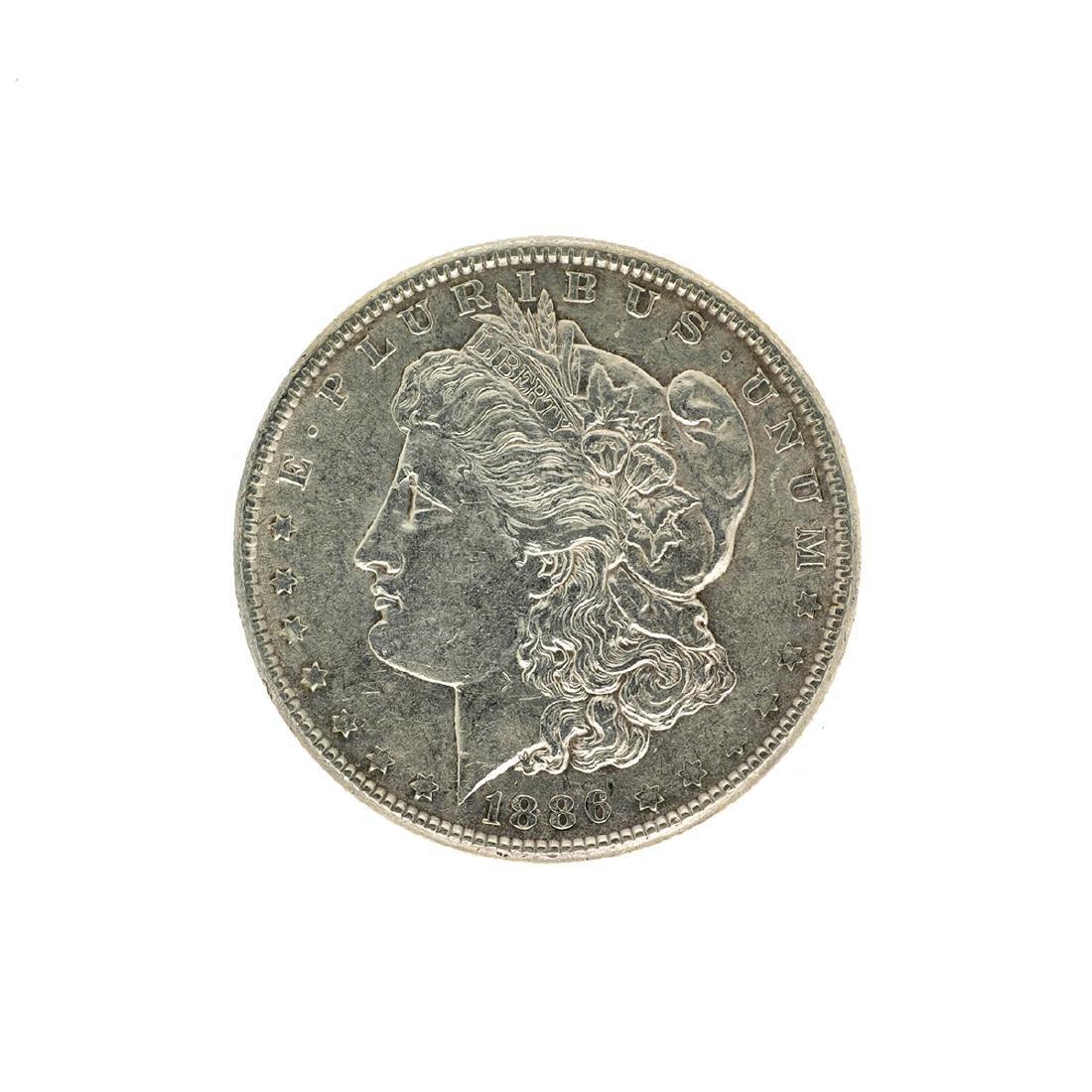 1886 Morgan Silver Dollar Coin