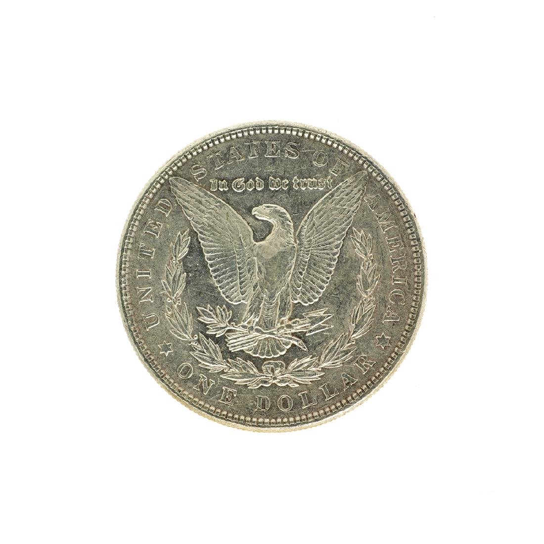 1886 Morgan Silver Dollar Coin - 2
