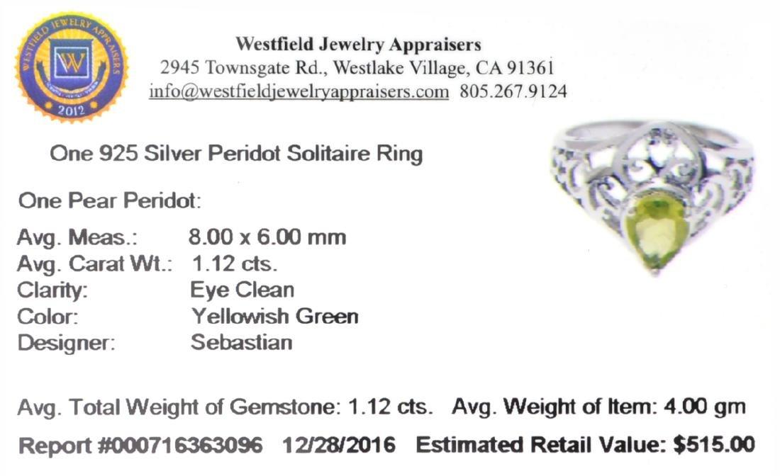APP: 0.5k Fine Jewelry Designer Sebastian, Pear Cut - 2