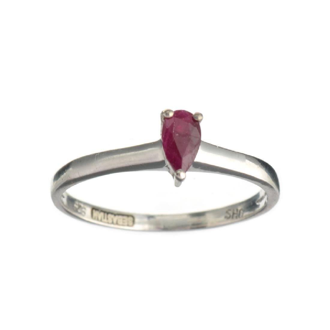 APP: 0.7k Fine Jewelry Designer Sebastian 0.50CT Pear