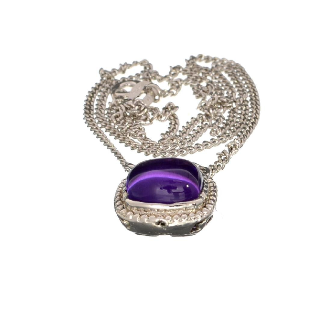 APP: 0.6k Fine Jewelry 3.91CT Cabochon Cut Purple