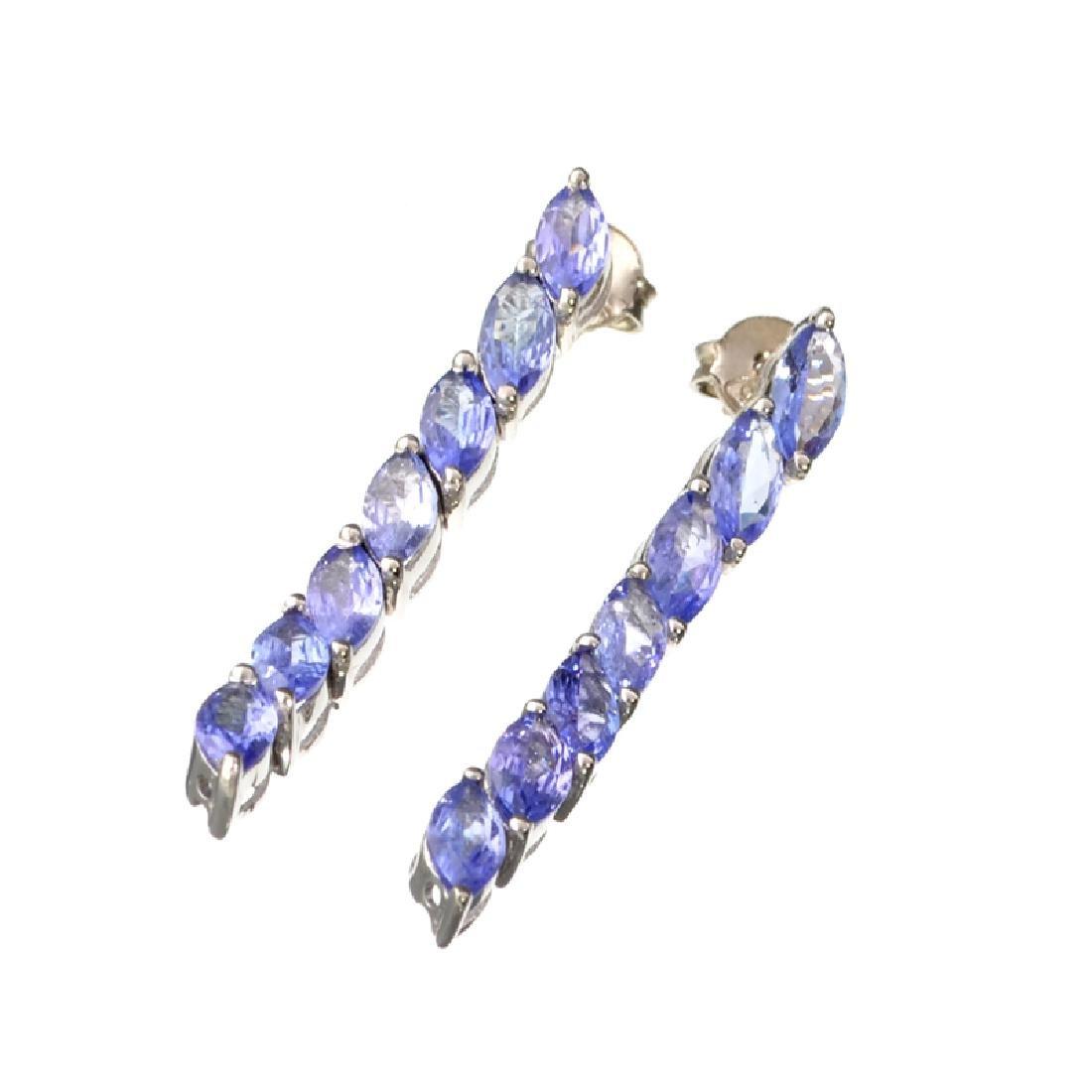 APP: 2.1k Fine Jewelry 3.20CT Marquise Cut Tanzanite