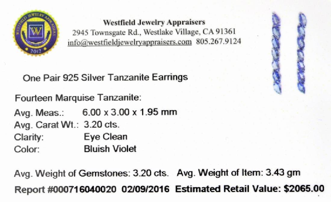 APP: 2.1k Fine Jewelry 3.20CT Marquise Cut Tanzanite - 2