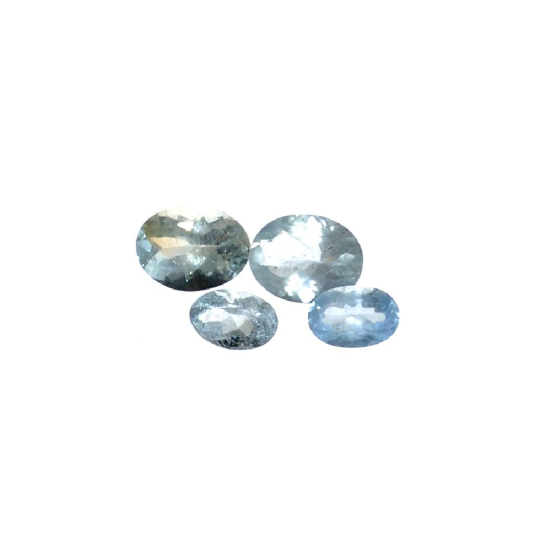 APP: 1.1k 3.56CT Oval Cut Aquamarine Parcel