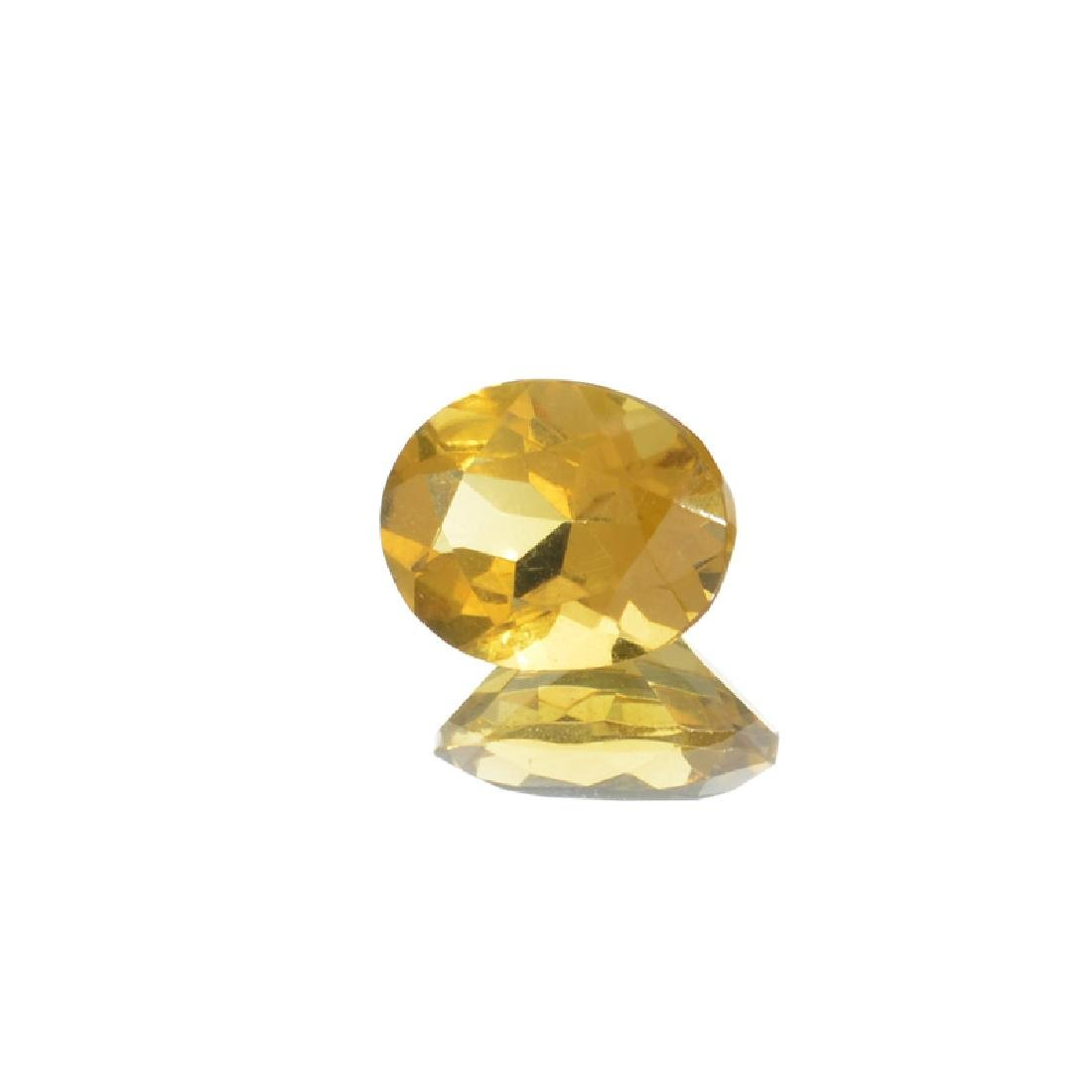 APP: 0.2k 3.34CT Oval Cut Citrine Gemstone