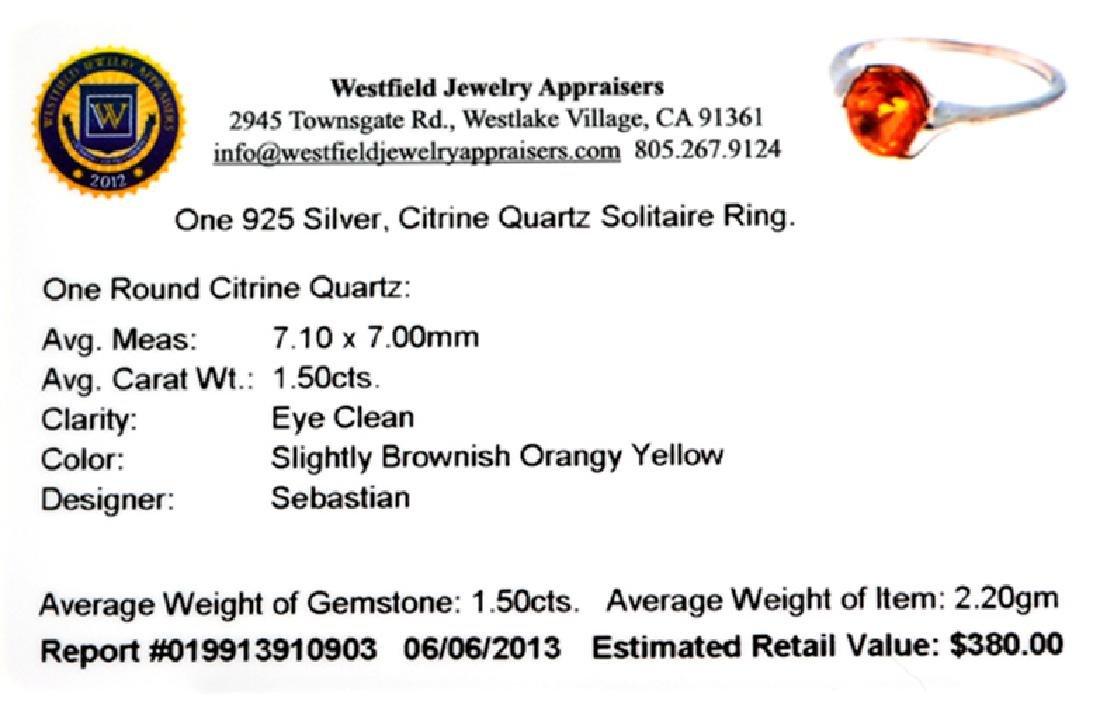 APP: 0.4k Fine Jewelry Designer Sebastian 1.50CT Round - 2