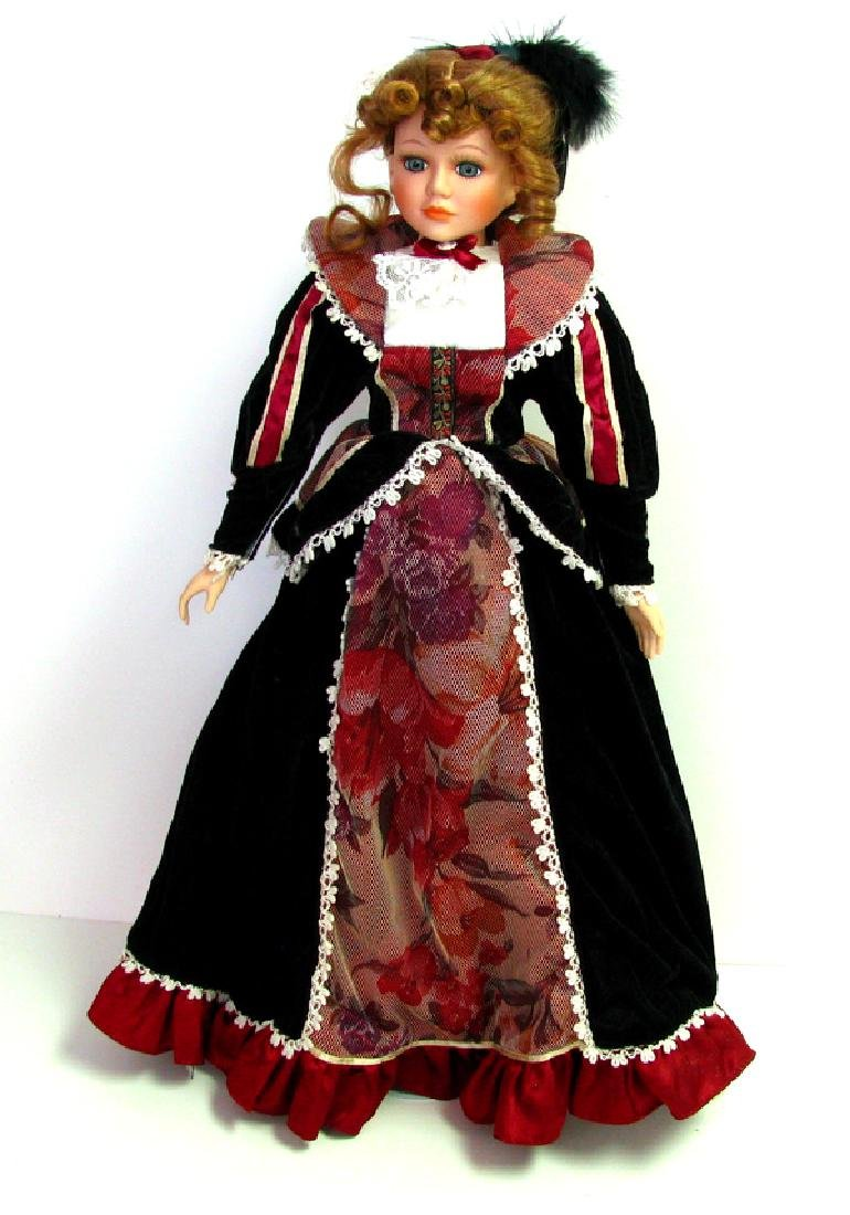 Isabell Doll With Stand