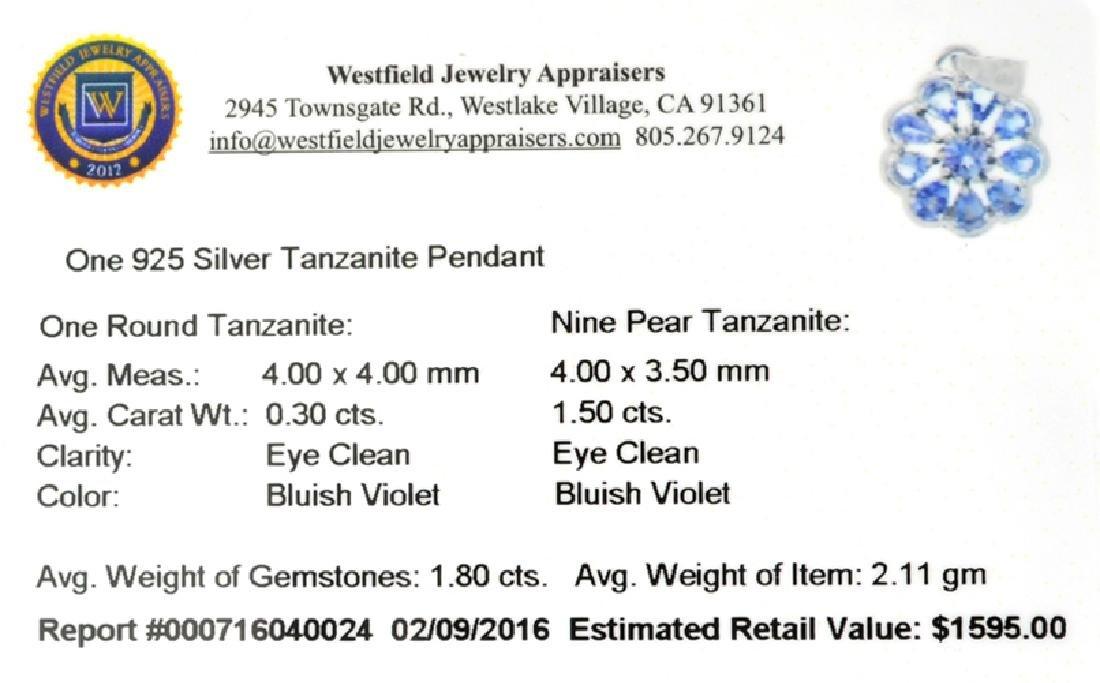 APP: 1.6k Fine Jewelry 1.80CT Tanzanite And Sterling - 2