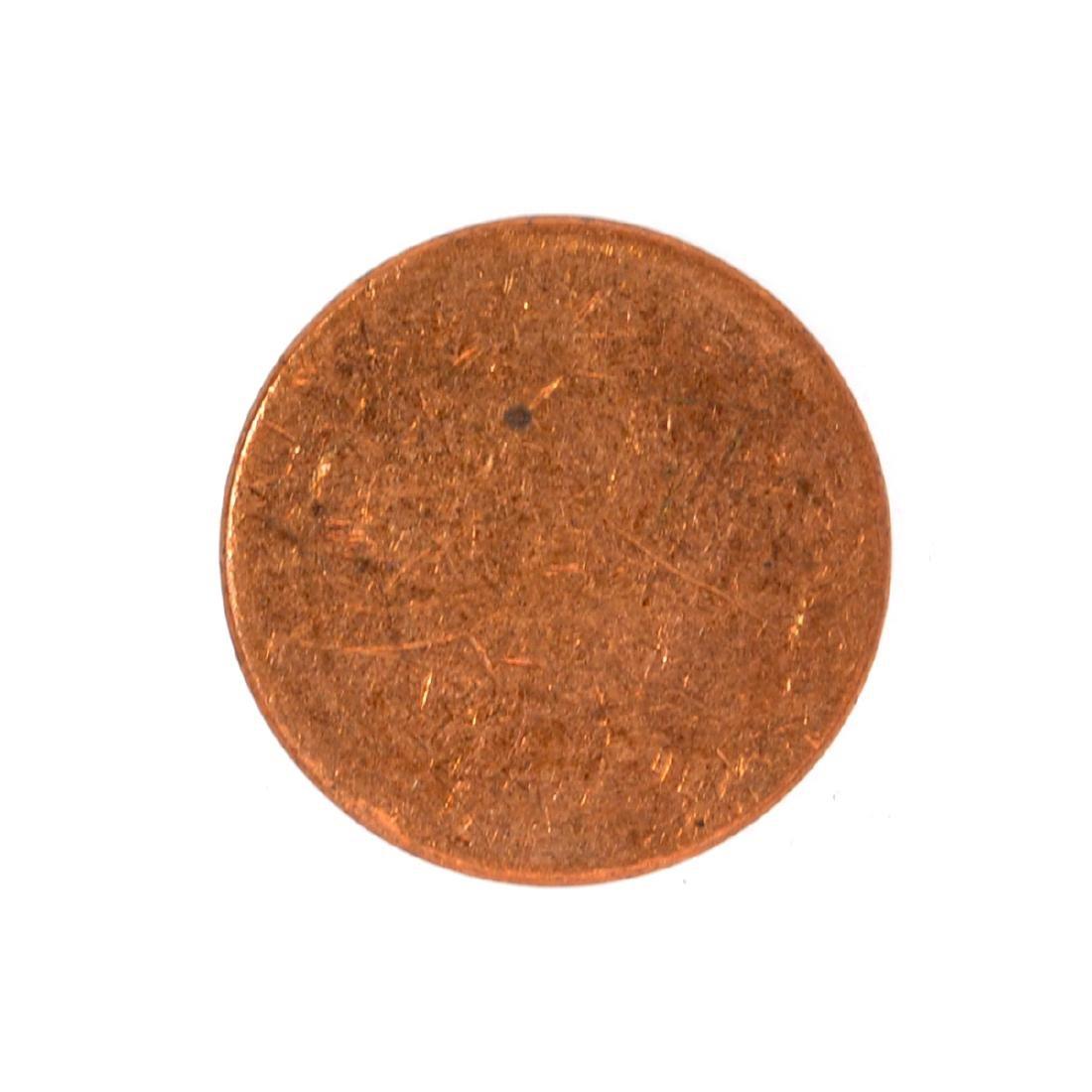Mint U.S. 1 Cent Blank Planchet Coin