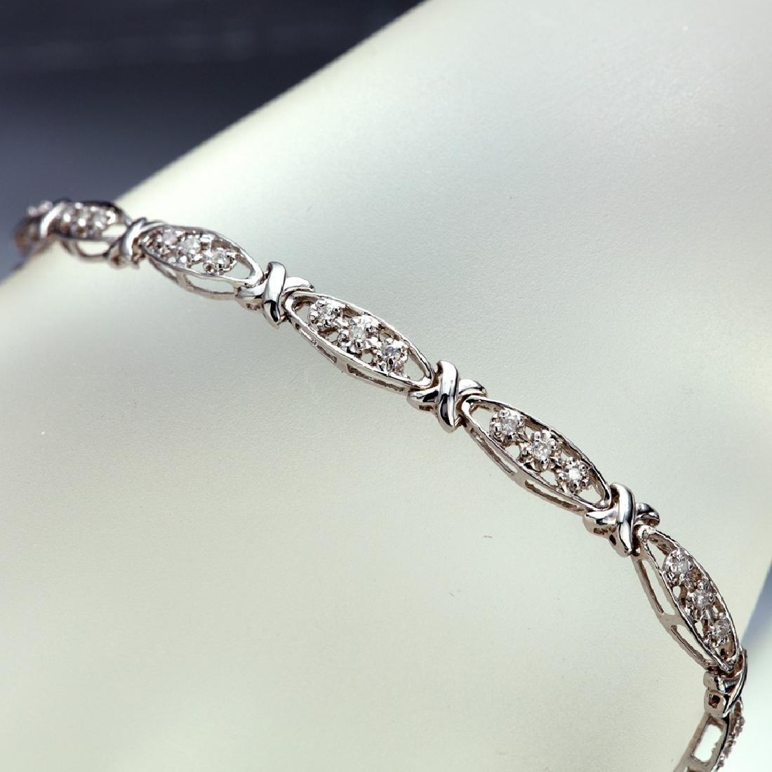 APP: 2.9k *Fine Jewelry 14 KT White Gold, 0.50CT Round