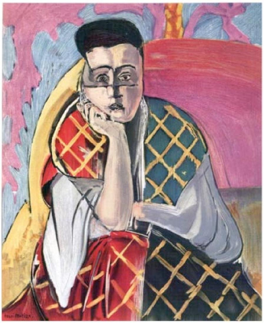 Henri Matisse ''''129 Mlle H.D. Woman With A Veil''''