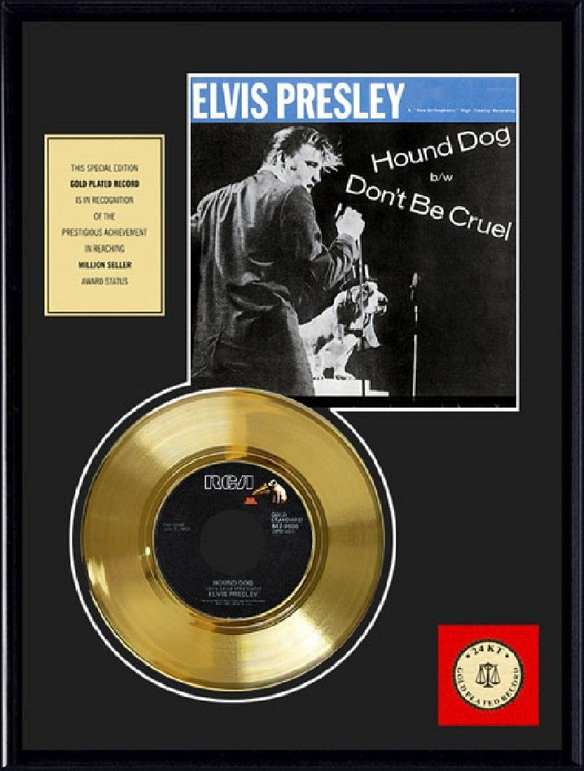 ''Hound Dog'' Gold Record
