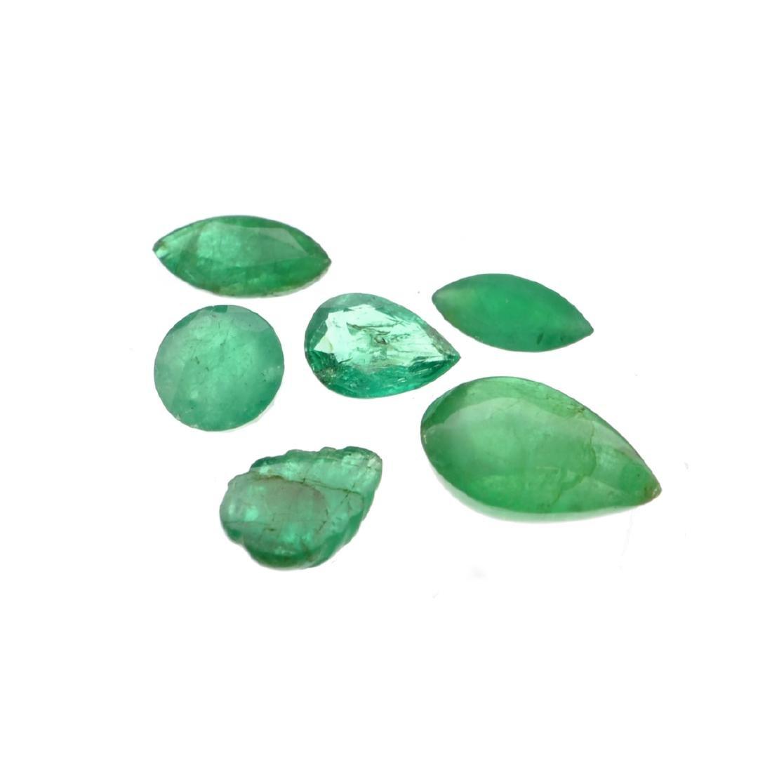 APP: 5.1k 5.13CT Multi Shape Emerald Parcel