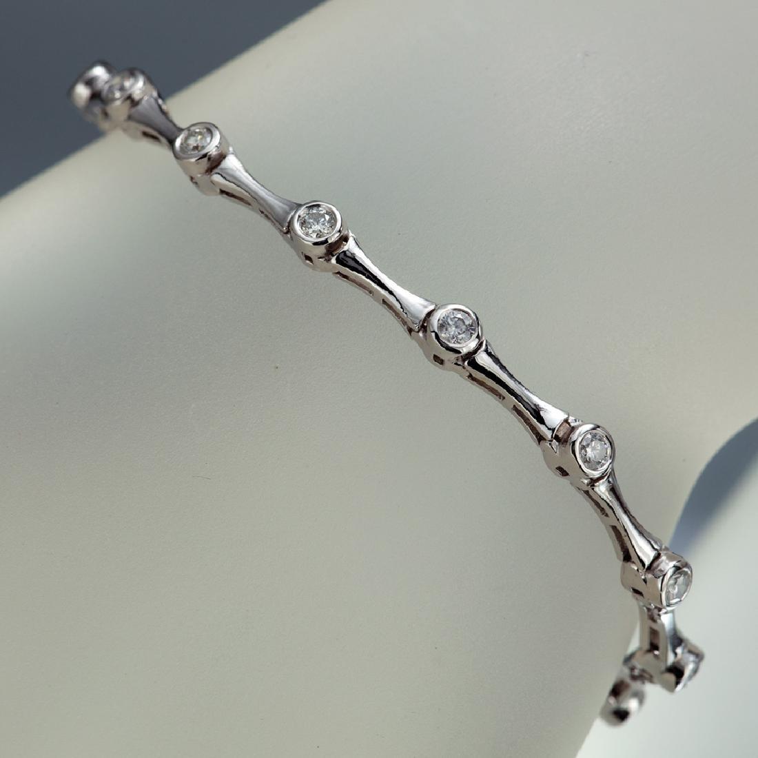 APP: 3.8k *Fine Jewelry 14 KT White Gold, 1.00CT Round