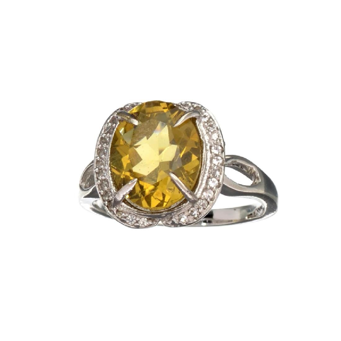 APP: 0.8k Fine Jewerly 3.00CT Oval Cut Citrine And