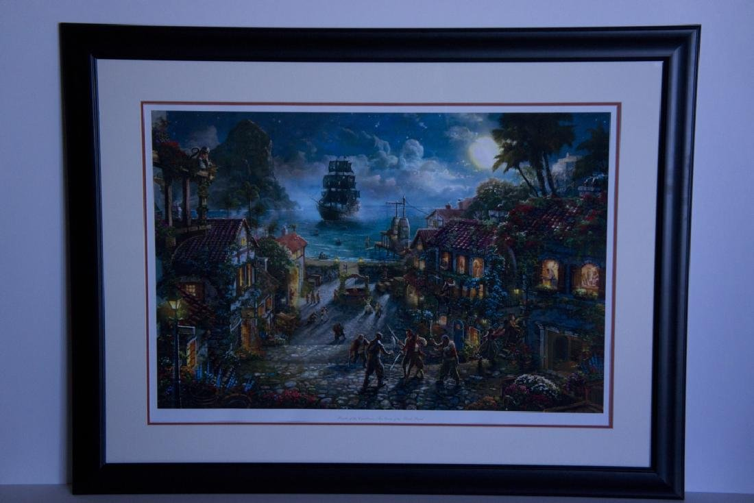 Rare Thomas Kinkade Original Ltd Edt Lithograph Plate