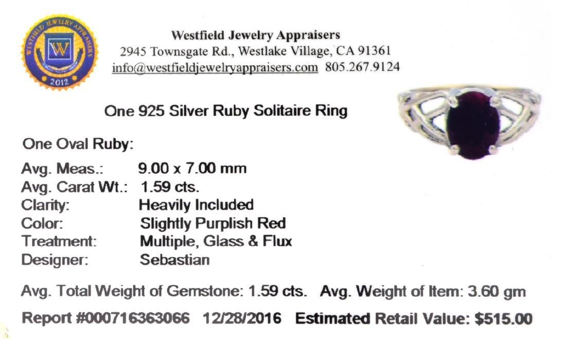 APP: 0.5k Fine Jewelry Designer Sebastian, 1.59CT Oval - 2