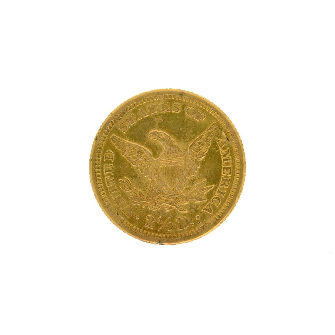 1906 $2.50 U.S. Liberty Head Gold Coin - 2