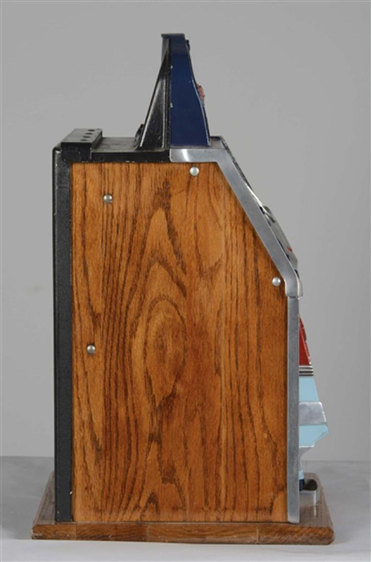 Extremely Rare 10¢ Mills Castle Front Slot Machine -P- - 3