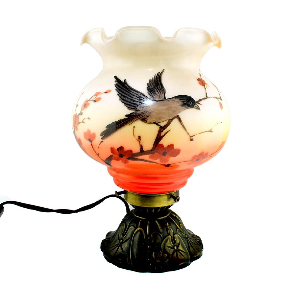 Hand Painted Coral Lamp