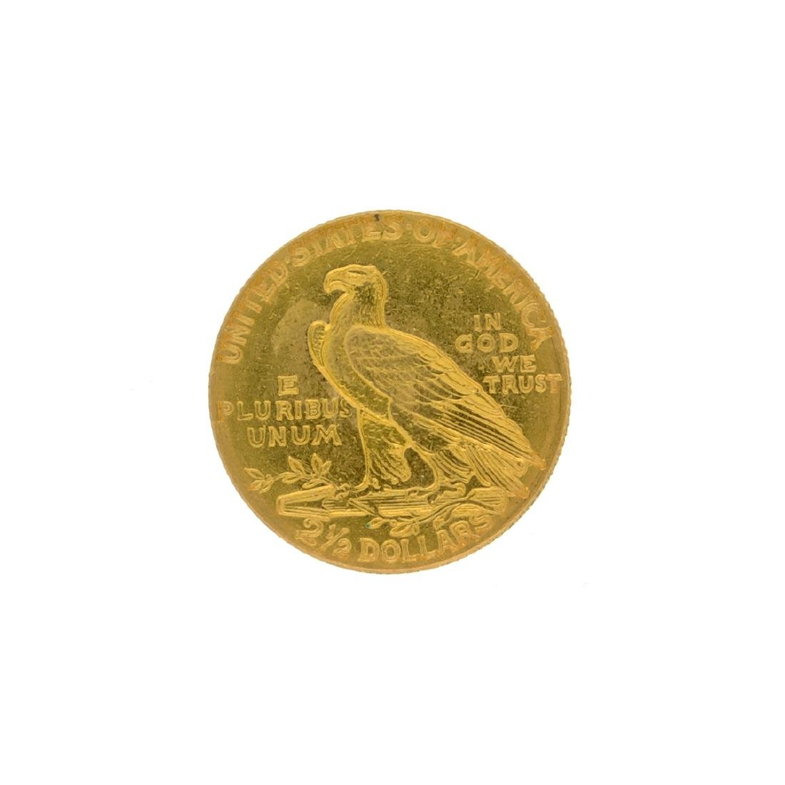 1914 $2.50 U.S. Indian Head Gold Coin - 2