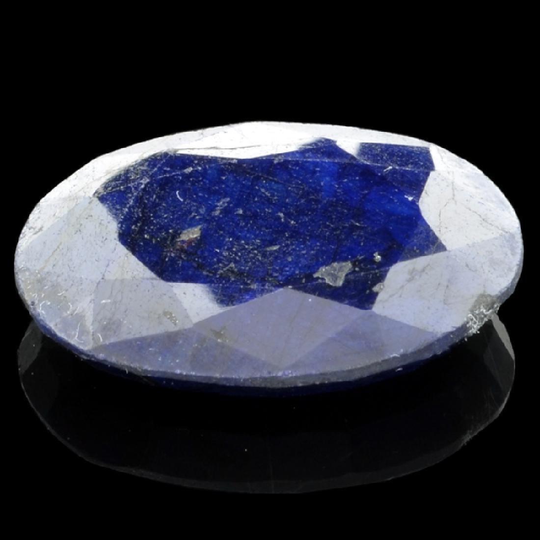 APP: 1.7k 36.44CT Oval Cut Blue Sapphire Gemstone