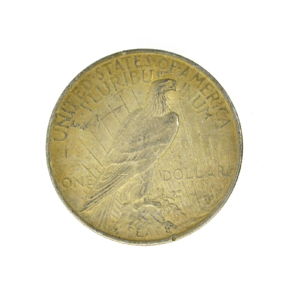 1923 Peace Silver Dollar Coin - 2