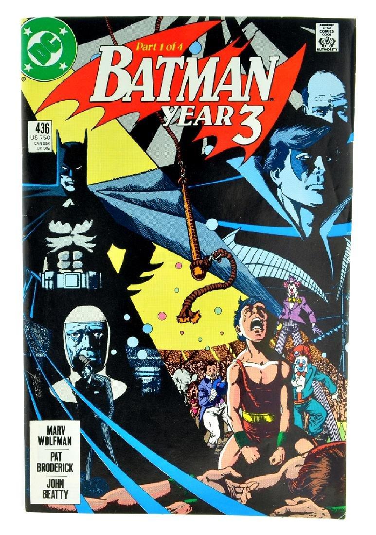 Batman (1940) Issue 436