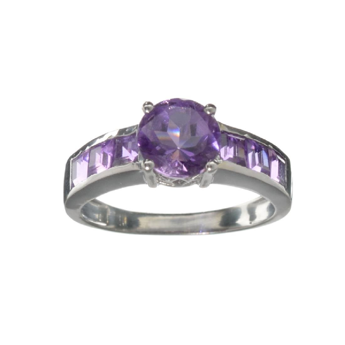 APP: 0.3k Fine Jewelry 2.15CT Purple Amethyst And