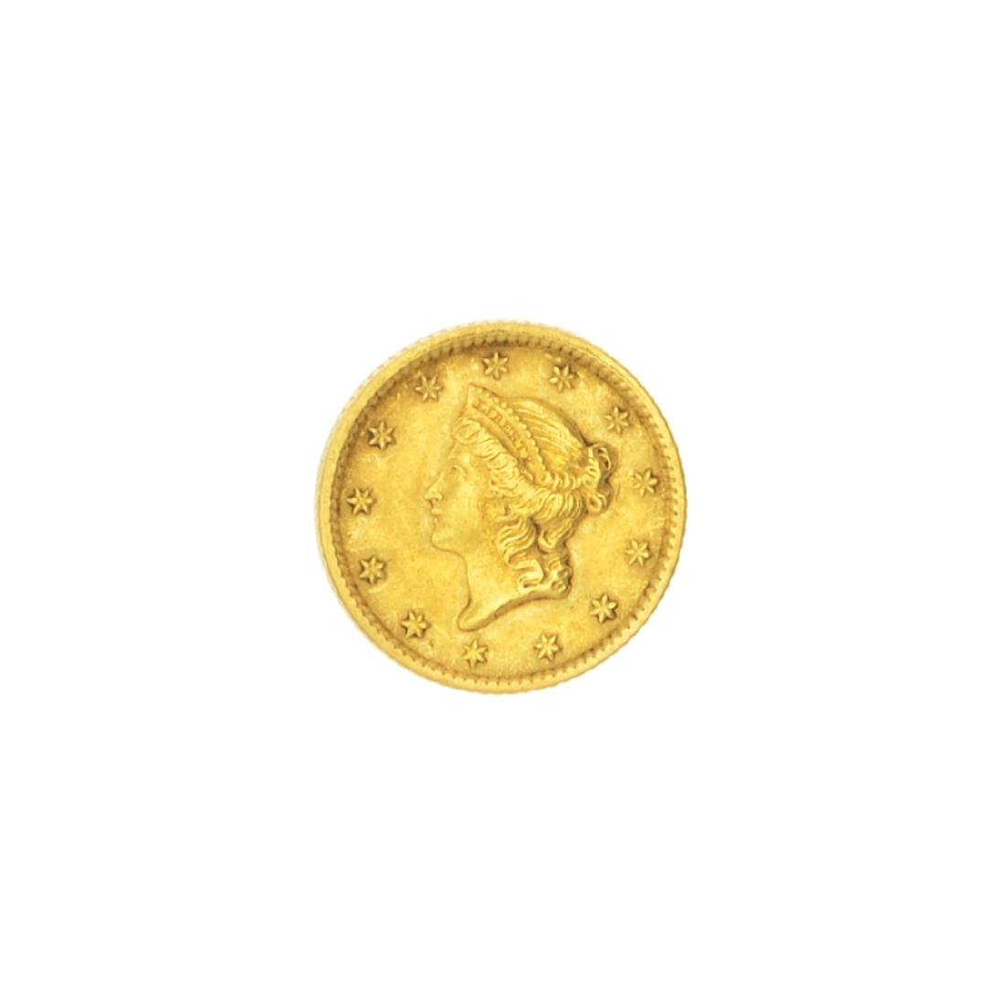 Very Rare 1853 $1 U.S. Liberty Head Gold Coin Great