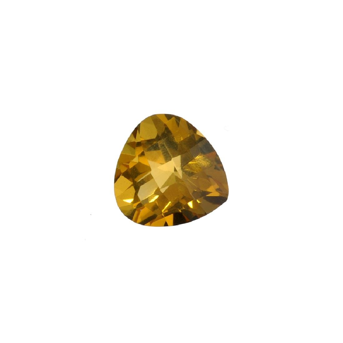 APP: 0.4k 7.56CT Pear Cut Citrine Gemstone