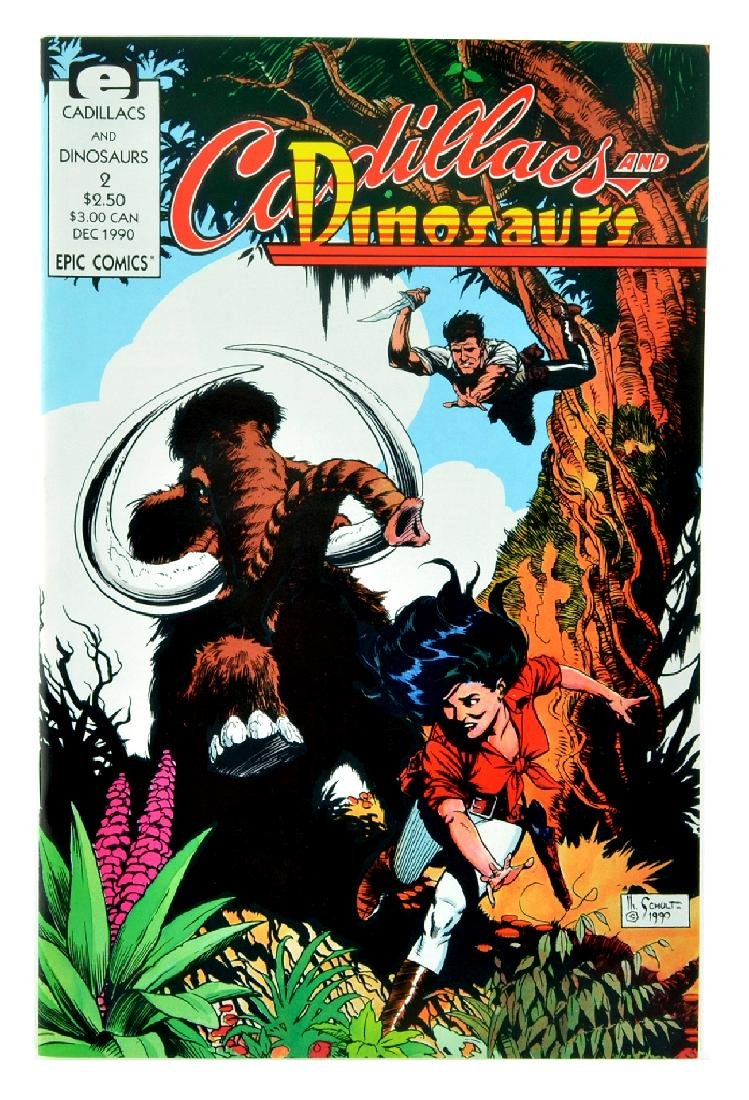 Cadillacs and Dinosaurs (1990 Marvel) Issue 2