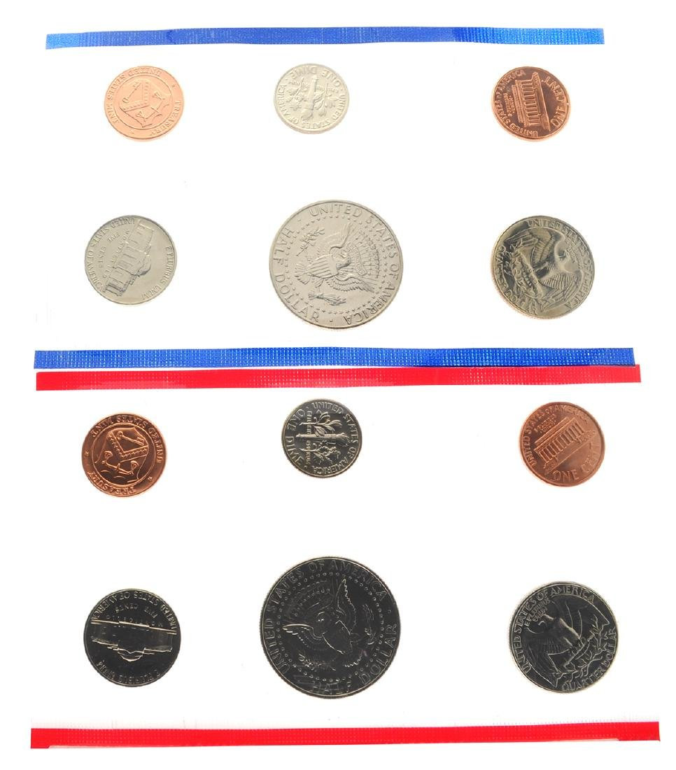 1990 United States Mint Uncirculated Coin Set - 2